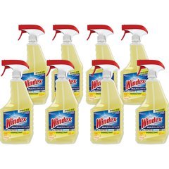Windex Multisurface Disinfectant Spray - Ready-To-Use Spray - 0.20 gal (26 fl oz) - 8 / Carton - Yellow