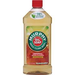 Murphy Oil Soap Orig Wood Cleaner - Concentrate Oil, Liquid - 0.13 gal (16 fl oz) - Murphy ScentBottle - 1 Each - Tan