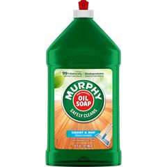 Murphy Squirt/Mop Murphy Oil Soap - Ready-To-Use Oil - 0.25 gal (32 fl oz) - Natural ScentBottle - 1 Each - Tan