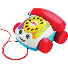 Fisher-Price Chatter Telephone Phone Toy - Skill Learning: Spin, Eye-hand Coordination, Balance/Coordination, Walking