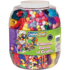 Pacon Barrel of Colossal Crafts - Craft - 1 Each - Assorted - Foam
