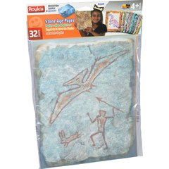 "Roylco Stone Age Paper - Letter - 8 1/2"" x 11"" - Assorted Paper - 32 / Pack"