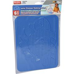 "Roylco Junior Rubbing Plates - Fun and Learning - 11""8.5"" - 6 / Pack - Assorted"