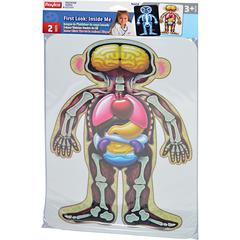Roylco First Look Inside Me - Theme/Subject: Radiology - Skill Learning: Radiography, Doctor, Motor Skills - 2 Pieces - 2+
