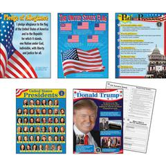 Trend U.S. Presidents Bulletin Board Set - Theme/Subject: Learning - Skill Learning: Creativity