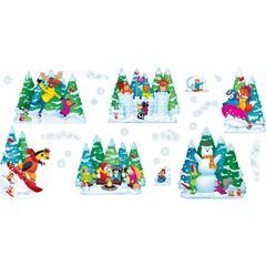 Trend Wonderful Winter Bulletin Board Set - Learning, Fun Theme/Subject - Multicolor - 25 / Set