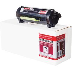 Micromicr TLN-601 MICR Toner Cartridge - Alternative for Lexmark - Black - Laser - 8500 Pages - 1 Each
