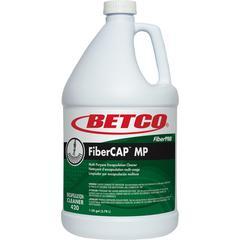 Betco FiberCAP MP Cleaner - Liquid - 1 gal (128 fl oz) - 1 Each - Clear