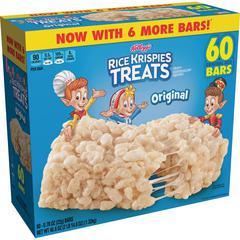 Kellogg's Original Rice Krispies Treats - Original - 60 / Carton