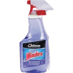 Windex Non-ammoniated Cleaner - Spray - 0.25 gal (32 fl oz) - 1 Each - Purple