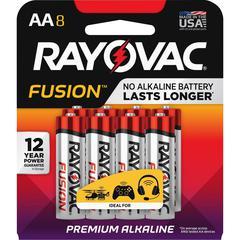 Rayovac Fusion Advanced Alkaline AA Batteries - AA - Alkaline
