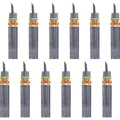 Pentel Super Hi-Polymer Leads - 0.5 mmFine Point - H - Black - 144 / Box