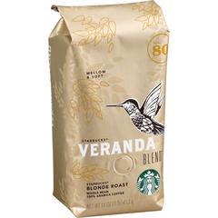 Starbucks Veranda Whole Bean Coffee - Veranda Blend - Blonde - 16 oz - 1 Each