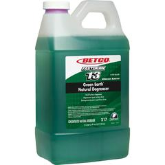 Betco Natural Degreaser - Concentrate Liquid - 0.53 gal (67.63 fl oz) - 1 Each - Dark Green