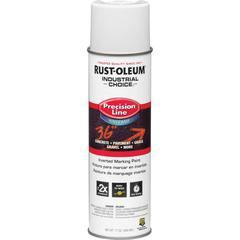Industrial Choice White M1800 Marking Paint Spray - 17 fl oz - 12 / Carton - White