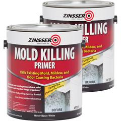 Zinsser Mold Killing Primer - 2 / Carton - White