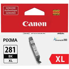 Canon CLI-281XL Original Ink Cartridge - Black - Inkjet - 1 Each