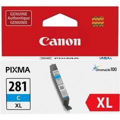 Canon CLI-281XL Original Ink Cartridge - Cyan - Inkjet - 1 Each