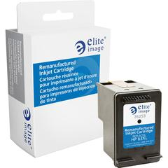 Elite Image Remanufactured Ink Cartridge - Alternative for HP 63XL (F6U64AN) - Black - Inkjet - High Yield - 480 Pages - 1 Each