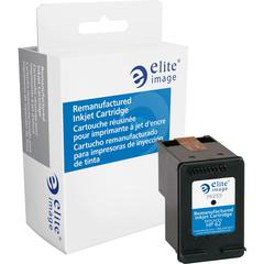 Elite Image Remanufactured Ink Cartridge - Alternative for HP 62 (C2P04AN) - Black - Inkjet - 200 Pages - 1 Each