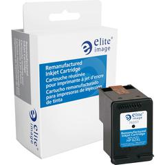Elite Image Remanufactured Ink Cartridge - Alternative for HP 62XL (C2P05AN) - Black - Inkjet - 600 Pages - 1 Each