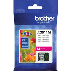 Brother LC3011M Original Ink Cartridge Single Pack - Magenta - Inkjet - Standard Yield - 200 Pages - 1 Pack