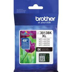 Brother LC3013BK Original Ink Cartridge Single Pack - Black - Inkjet - High Yield - 400 Pages - 1 Pack