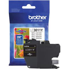 Brother LC3011Y Original Ink Cartridge Single Pack - Yellow - Inkjet - Standard Yield - 200 Pages - 1 Pack