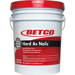 Betco Hard As Nails Hard Film Floor Finish - Liquid - 5 gal (640 fl oz) - Mild Scent - 1 Each - White