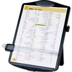 """Business Source Easel Document Holder - 10"""" x 2"""" x 14"""" - 1 Each - Black"""