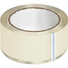"""Business Source Crystal Clear Packaging Tape - 2"""" Width x 55 yd Length - 3"""" Core - Pressure-sensitive Poly - 2.50 mil - 6 / Pack - Crystal"""