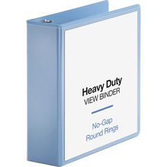 "Business Source Round-ring View Binder - 3"" Binder Capacity - Letter - 8 1/2"" x 11"" Sheet Size - 625 Sheet Capacity - Round Ring Fastener(s) - 2 Internal Pocket(s) - Polypropylene, Chipboard, Board -"