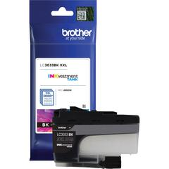 Brother Genuine LC3033BK Single Pack Super High-yield Black INKvestment Tank Ink Cartridge - Inkjet - Super High Yield - 3000 Pages - 1 Pack