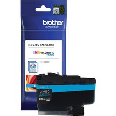 Brother Genuine LC3035C Single Pack Ultra High-yield Cyan INKvestment Tank Ink Cartridge - Inkjet - Ultra High Yield - 5000 Pages - 1 Pack