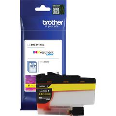 Brother Genuine LC3033Y Single Pack Super High-yield Yellow INKvestment Tank Ink Cartridge - Inkjet - Super High Yield - 1500 Pages - 1 Pack
