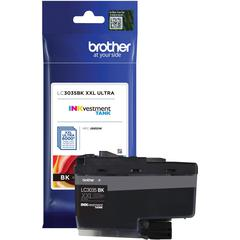 Brother Genuine LC3035BK Single Pack Ultra High-yield Black INKvestment Tank Ink Cartridge - Inkjet - Ultra High Yield - 6000 Pages - 1 Pack