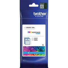 Brother Genuine LC3033C Single Pack Super High-yield Cyan INKvestment Tank Ink Cartridge - Inkjet - Super High Yield - 1500 Pages - 1 Pack