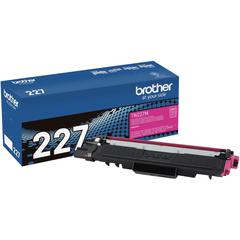 Brother Genuine TN-227M High Yield Magenta Toner Cartridge - Laser - High Yield - 2300 Pages