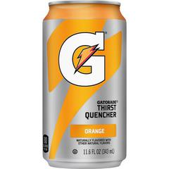 Quaker Oats Gatorade Can Flavored Thirst Quencher - Ready-to-Drink - Orange Flavor - 11.60 fl oz (343 mL) - Can - 24 / Carton