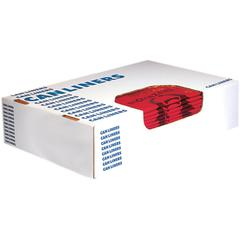 "Heritage 1.3 mil Color-coded Can Liner - 30 gal - 30"" Width x 43"" Length x 1.30 mil (33 Micron) Thickness - Low Density - Red - 200/Carton - Can - Commercial, Healthcare"