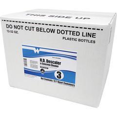 Maintex Heavy Duty Descaler & Concrete Cleaner - Concentrate - 0.25 gal (32 fl oz) - Bottle - 12 / Carton - White