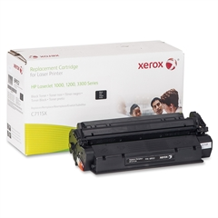 Xerox Remanufactured Toner Cartridge - Alternative for HP 15X (C7115X) - Black - Laser - 3500 Page - 1 Each