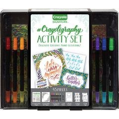 Crayola Signature Crayoligraphy Activity Set - Art Project - 45 Piece(s) - 1 Each - Assorted
