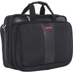 "Swiss Mobility Carrying Case (Briefcase) for 17.3"" Notebook - Black - Bump Resistant Interior, Scratch Resistant Interior - Handle - 18"" Height x 8"" Width x 13"" Depth"
