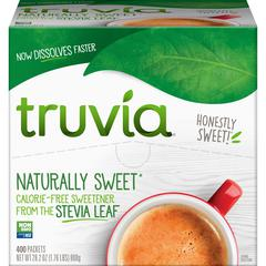 Truvia Sweetener Packets - Natural Sweetener - 400/Carton