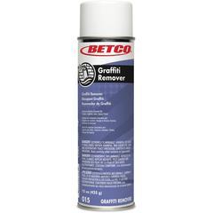 Betco Graffiti Remover - Ready-To-Use Spray - 0.12 gal (15 fl oz) - 12 / Carton - Clear