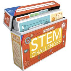 Carson-Dellosa STEM Challenges Learning Cards - Theme/Subject: Learning - Skill Learning: Science, Technology, Engineering, Mathematics - 30 Pieces - 7-11 Year