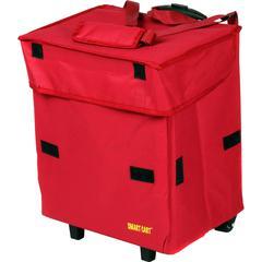 dbest Smart Cart Cooler - 29.06 gal - Red