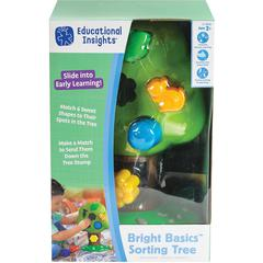Educational Insights Bright Basics Sorting Tree - Theme/Subject: Learning - Skill Learning: Tree, Sorting, Shape, Matching, Construction, Fine Motor