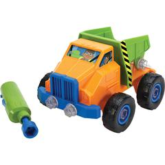 Educational Insights Design & Drill Dump Truck - Theme/Subject: Learning - Skill Learning: Creativity, Basic Engineering Principles, STEM, Imagination, Self-confidence